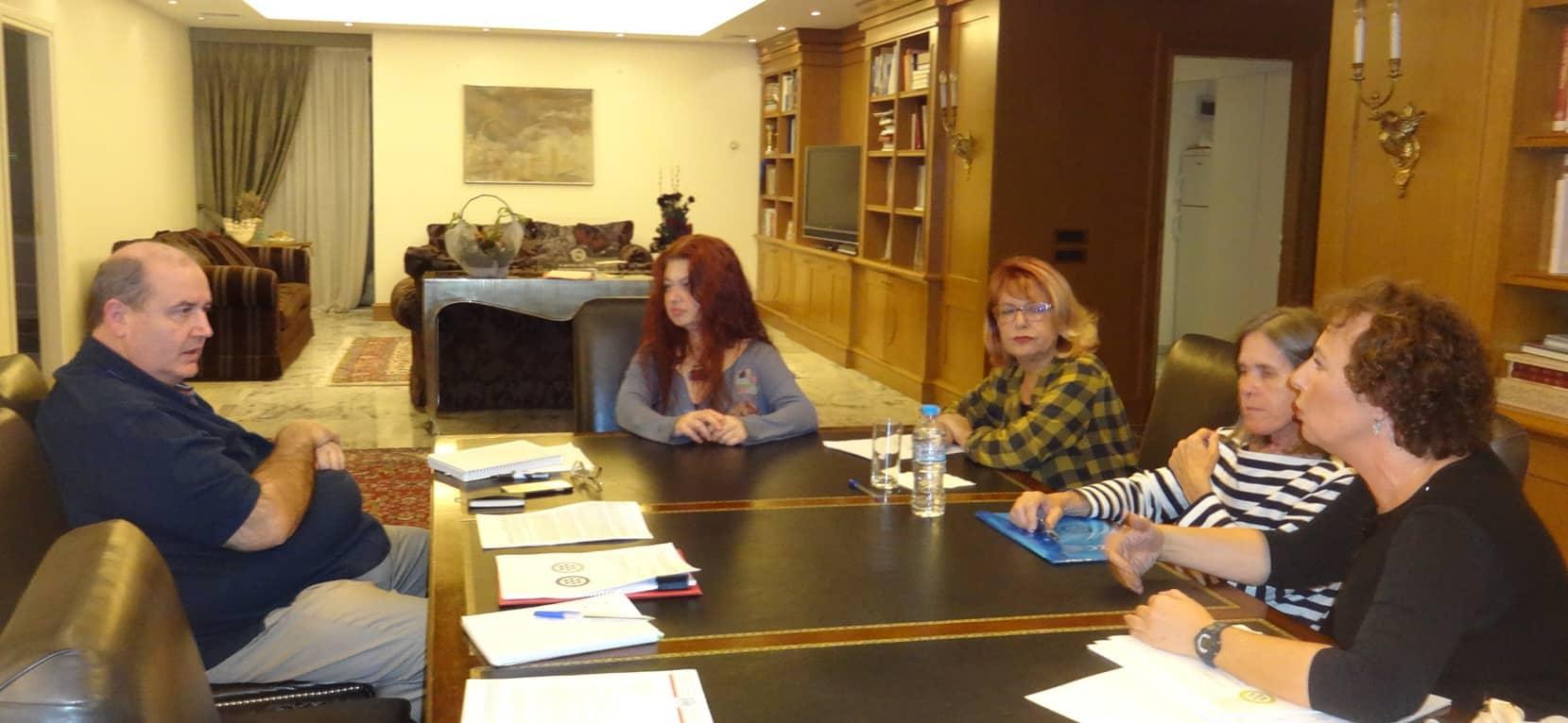 ΔΕΛΤΙΟ ΤΥΠΟΥ: Συνάντηση ΠΦΠΟ με τον Υπουργό Παιδείας / Meeting of PFPO with the Minister of Education