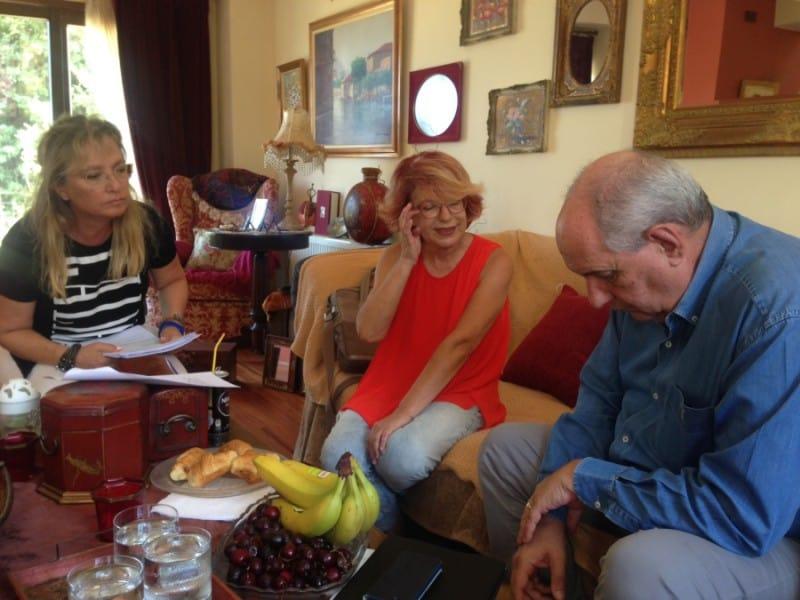 Ο Υπουργός κ. Τέρενς Κουίκ σε συνάντηση με την ΠΦΠΟ στα Χανιά