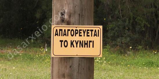 Δεκαετής απαγόρευση κυνηγιού σε περιοχές της Αττικής