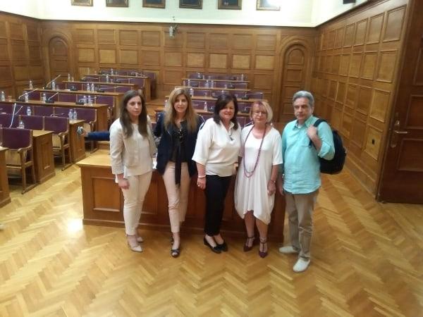 Η Ομοσπονδία μας στη Βουλή των Ελλήνων / Our Federation at the Greek Parliament