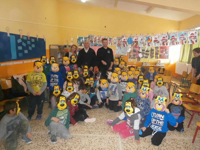 Επίσκεψη του φιλοζωικού σωματείου ΚΙΒΩΤΟΣ Αλεξανδρούπολης στο 3 Δημοτικό Σχολείο Φερών – Το φιλοζωικό σωματείο ΚΙΒΩΤΟΣ έκοψε την Βασιλόπιτα του