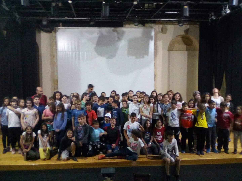"""Προβολή της ταινίας """"Re-Action"""" σε σχολεία/The film """"Re-Action"""" was screened in schools"""