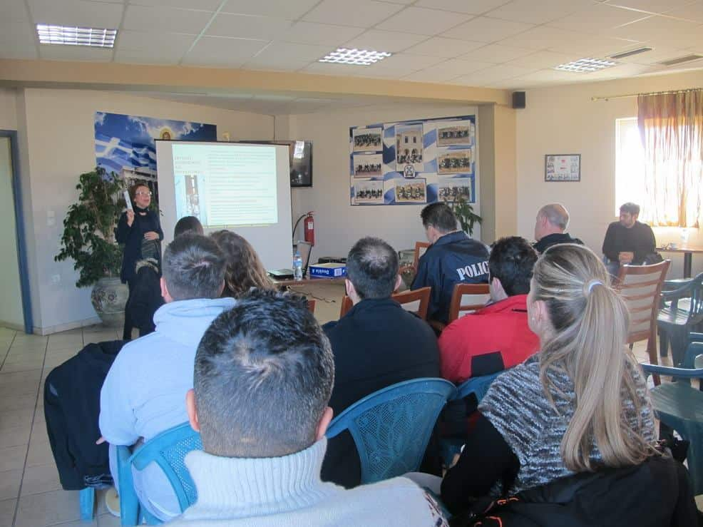 Seminar by PFPO to police officers of police stations in Preveza, Lefkada and Arta
