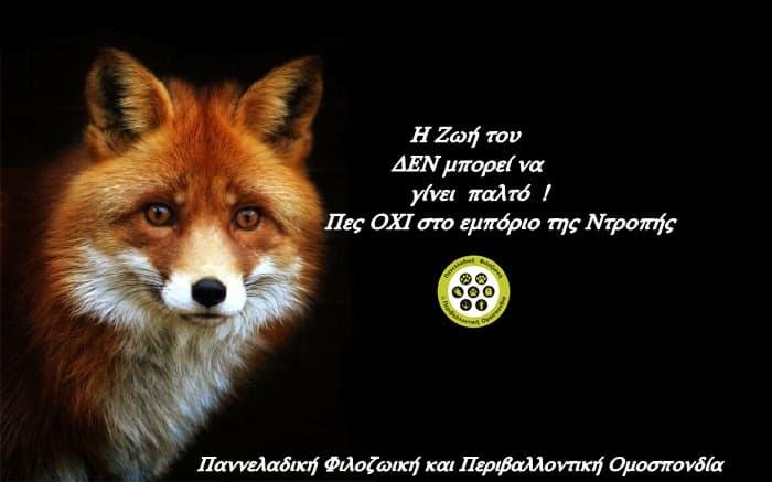 8 στους 10 πολίτες λενε ΟΧΙ στην παραγωγή γούνας και στην επιδότηση των γουνέμπορων αλλά η Κυβέρνηση λέει ΝΑΙ / Eight out of ten Greek citizens are against fur farming and State subsidy on fur industry . However Greek government continues to support the fur industry