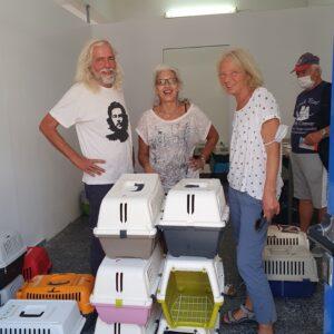 Ενα εξαιρετικό πρόγραμμα στείρωσης 247 αδεσποτων ζώων στην Σέριφο. Οταν η συνεργασία και ο εθελοντισμός συνυπάρχουν γίνονται θαύματα