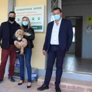 Έναν όμορφο και σύγχρονο κτηνιατρικό χώρο για τα αδέσποτα της περιοχής δημιούργησε ο Δήμος Φυλής